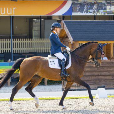 De kop is er af, Rixt van der Horst wint eerste onderdeel